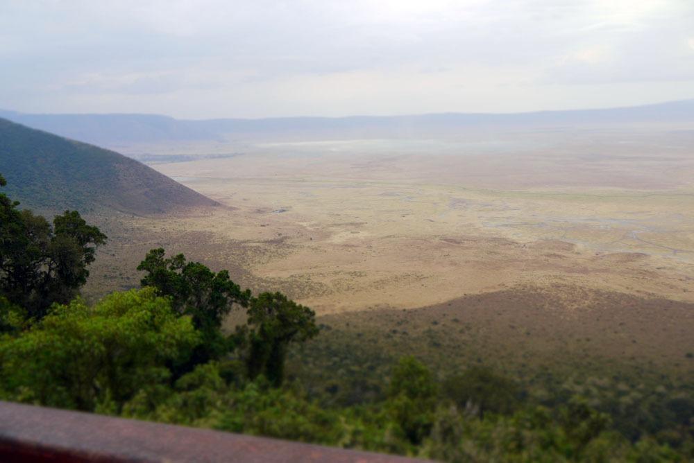 näkymät Ngorongoroon