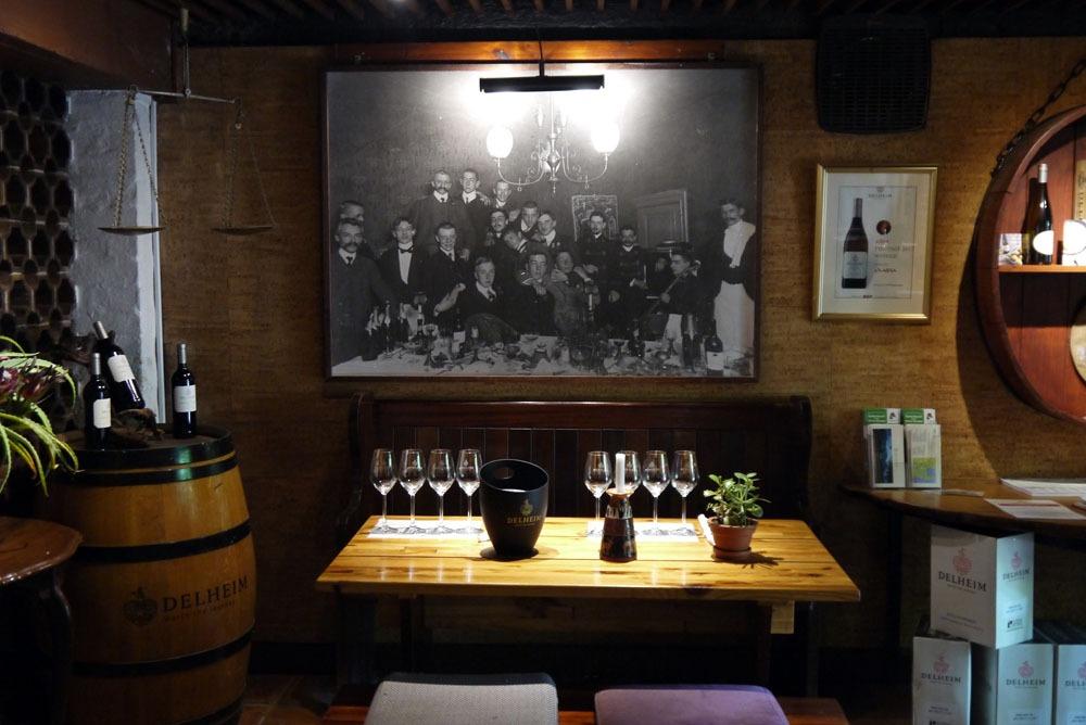 Delheimin viinitila Stellenboschissa