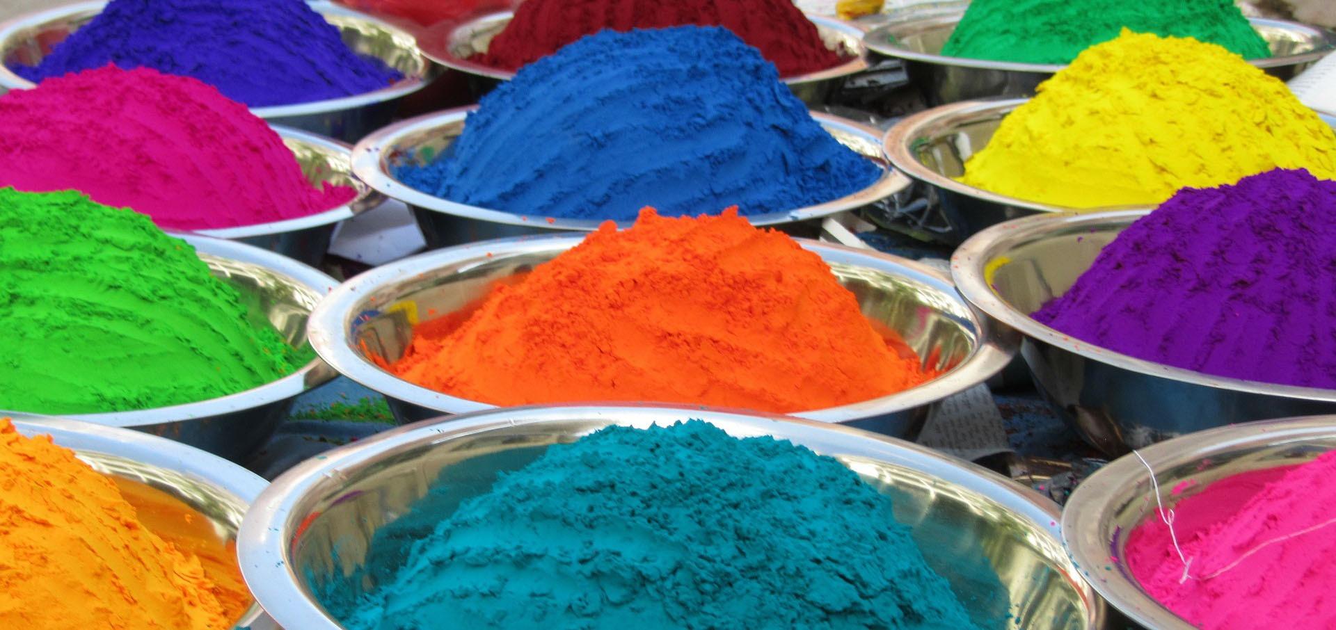 Intian monet värit