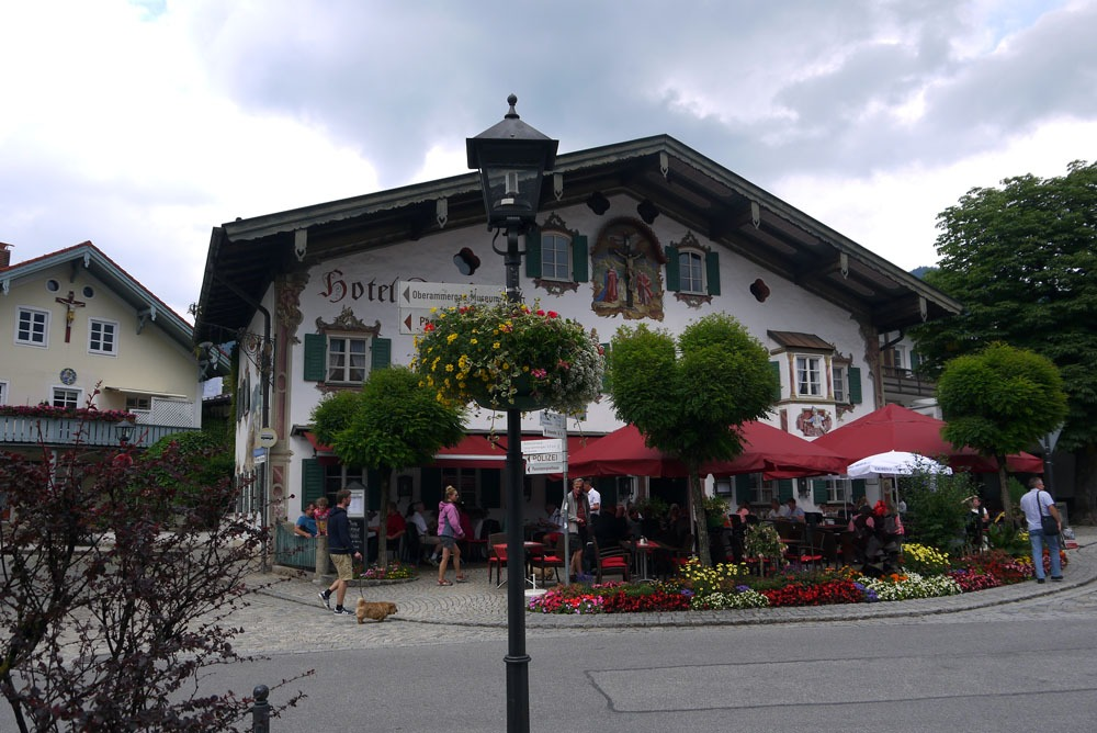 Aukio Oberammergaussa Baijerissa