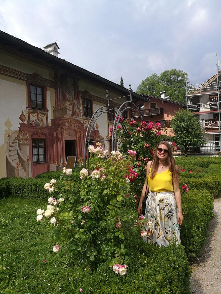 puutarha Oberammergaussa