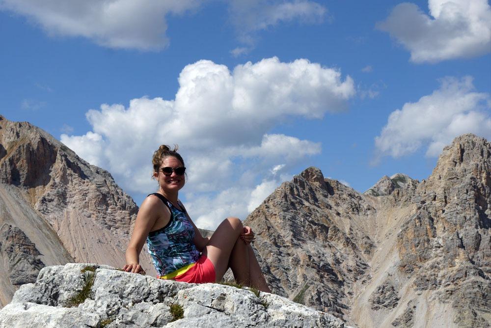 Fanes-Sennes-Braiesin luonnonpuistossa Dolomiiteilla