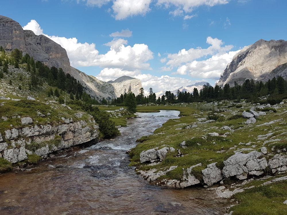 Fanes-Sennes-Braies luonnonpuisto Dolomiiteilla