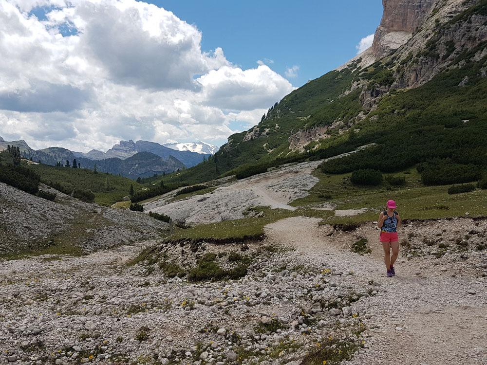 Fanes-Sennes-Braiesin luonnonpuisto Dolomiiteilla