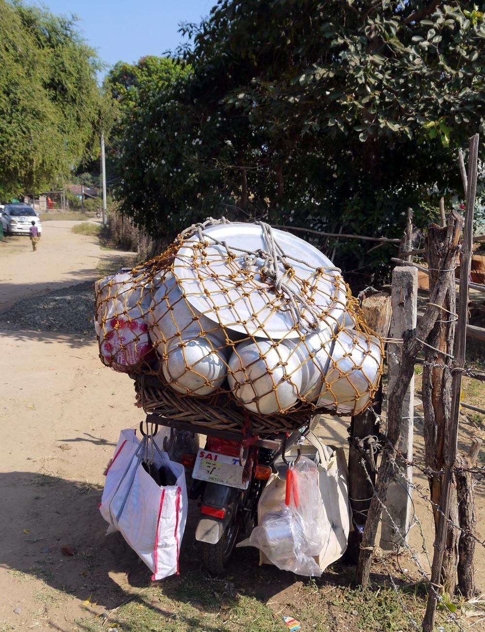 kuljetus Hoshangabadissa