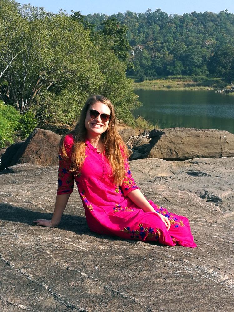 Onnellisena Intian Satpuran kanssallispuistossa