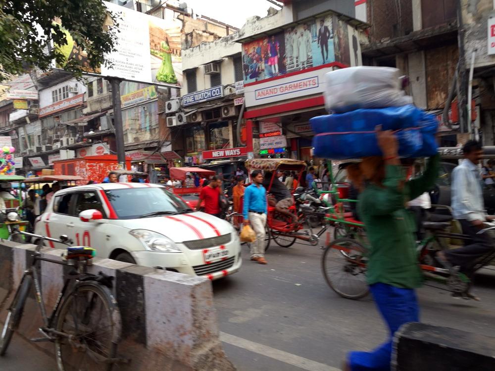 vanhan Delhin kadulta