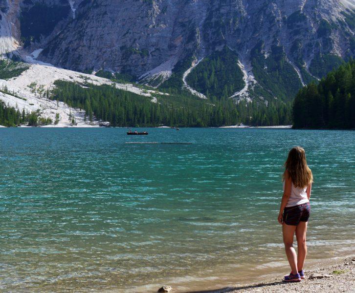Lago di Braies Dolomiiteilla