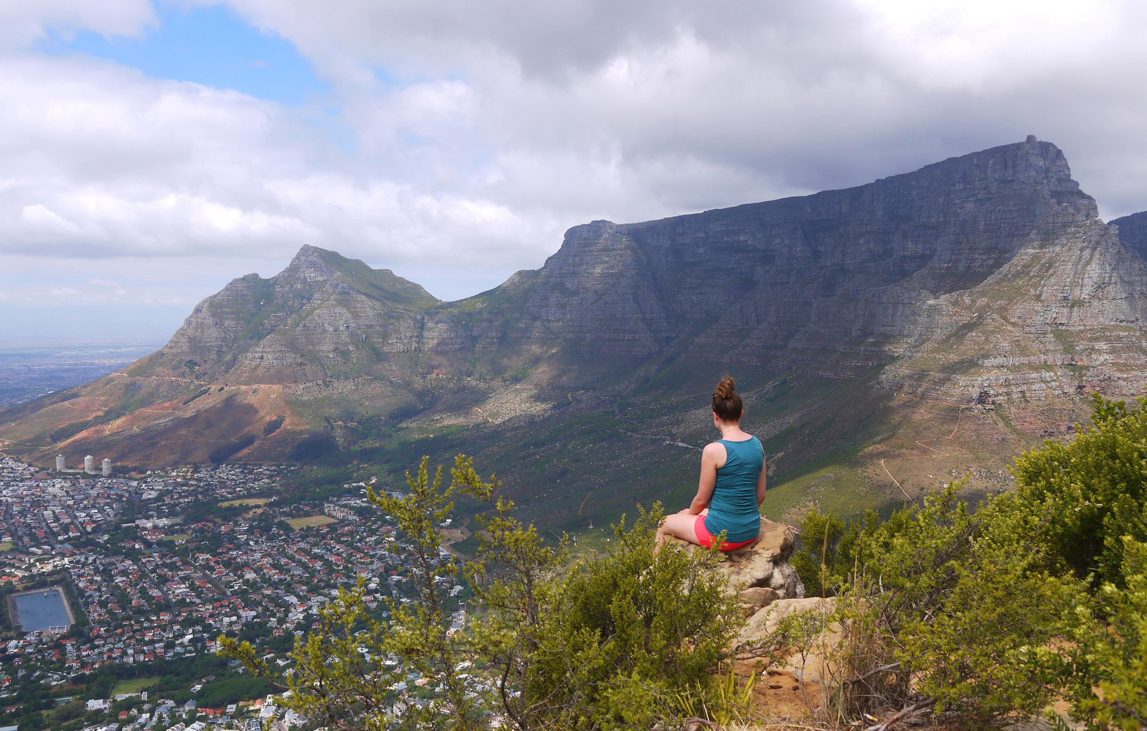 Lion's Headilla Kapkaupungissa Etelä-Afrikassa