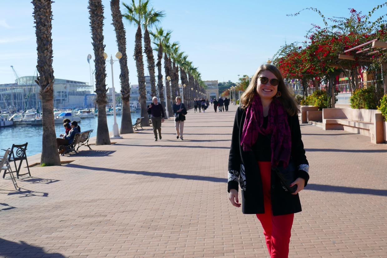 talviaurinkokin lämmittää Alicantessa