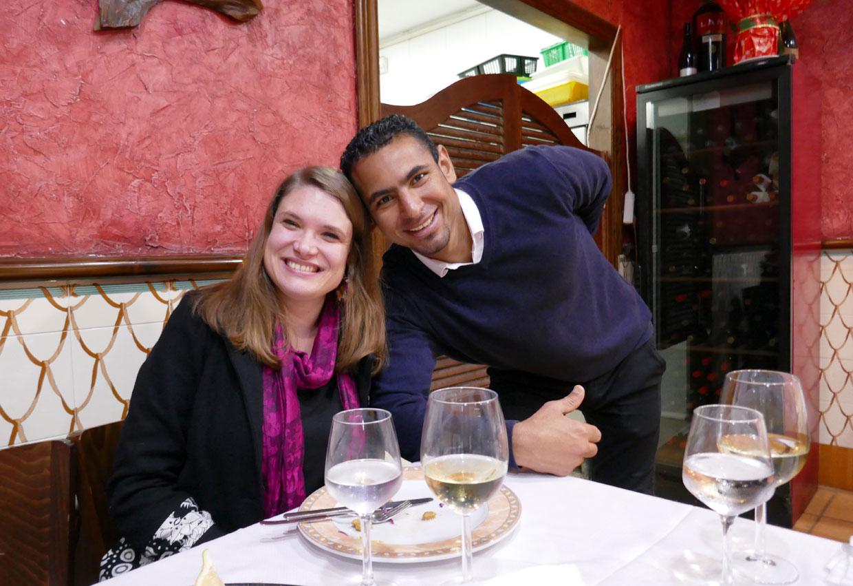 Alicanten ravintolassa