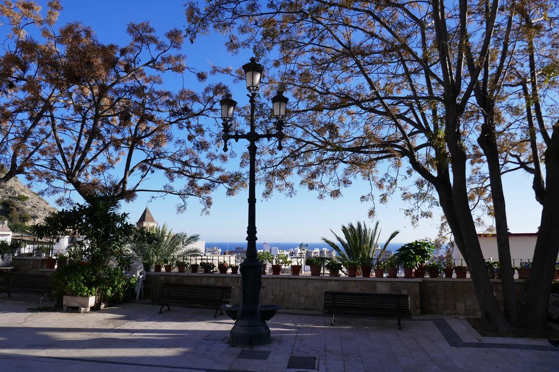 aukio Alicanten vanhassakaupungissa