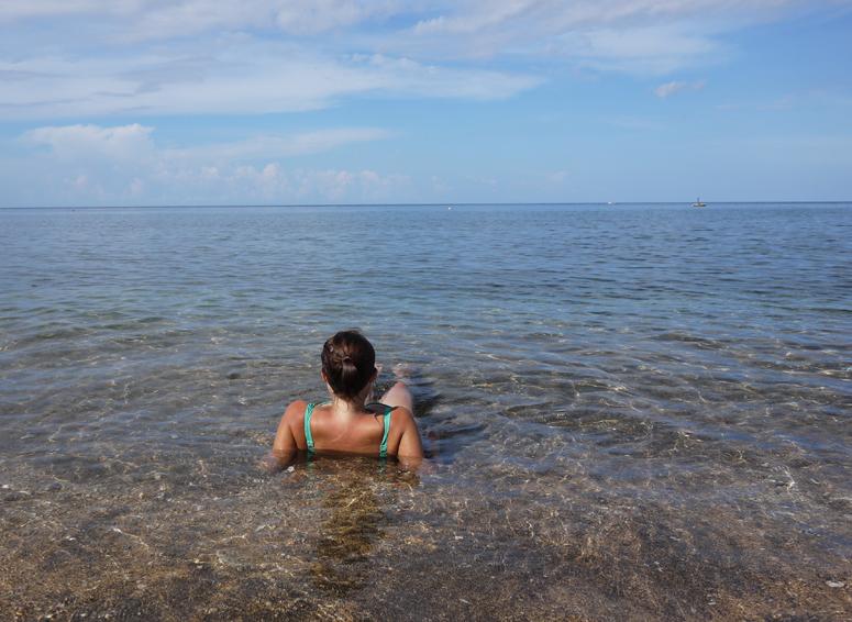 Balilla Amedin rannalla
