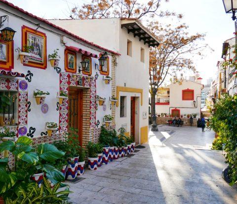 upea koti Alicanten canhassakaupungissa