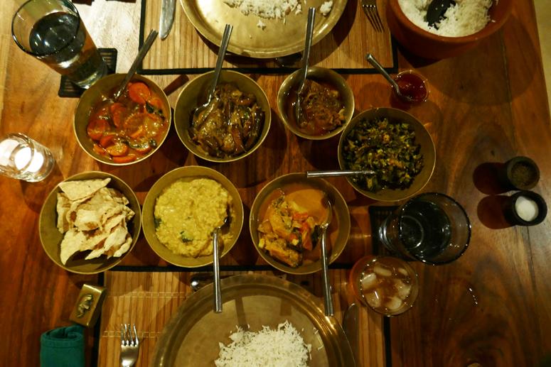 Curryillallinen Sri Lankassa