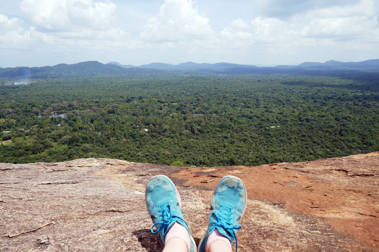 Pidurangala rockilla Sri Lankassa