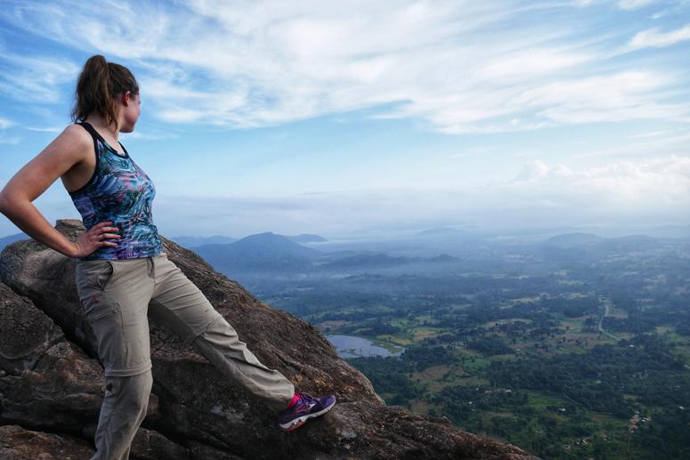 Upeat näkymät Monkey Mountainilta Gal Oyassa