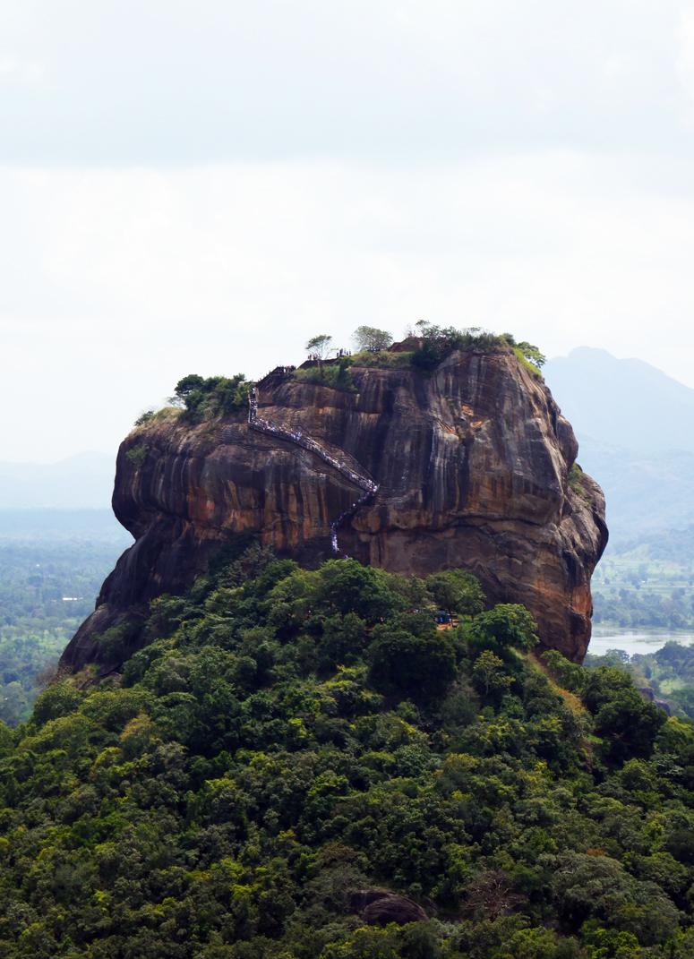 Sigiriya Sri Lankassa