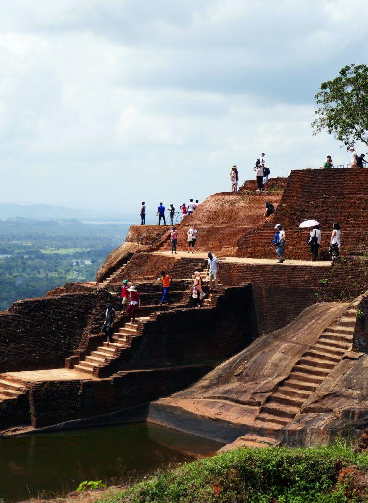 Sigiriyan kalliopalatsin raunioita