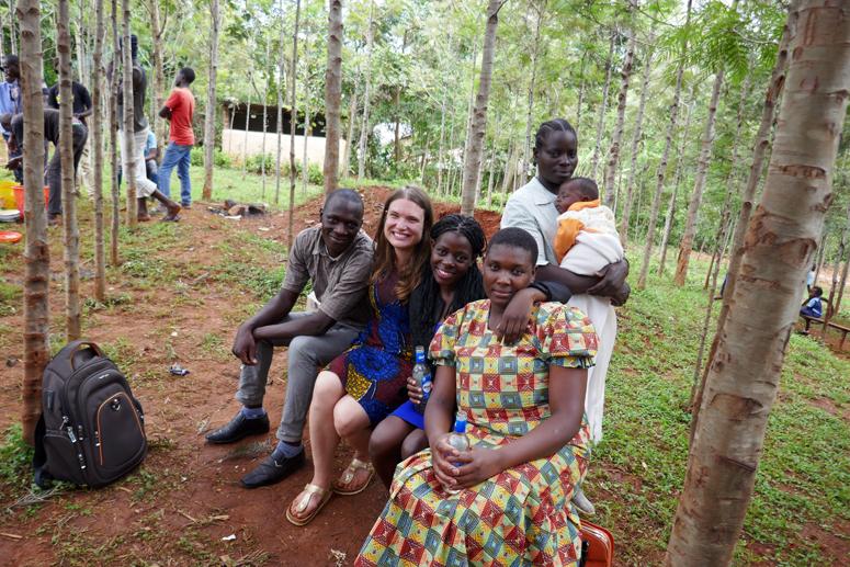 työkaverini Keniassa