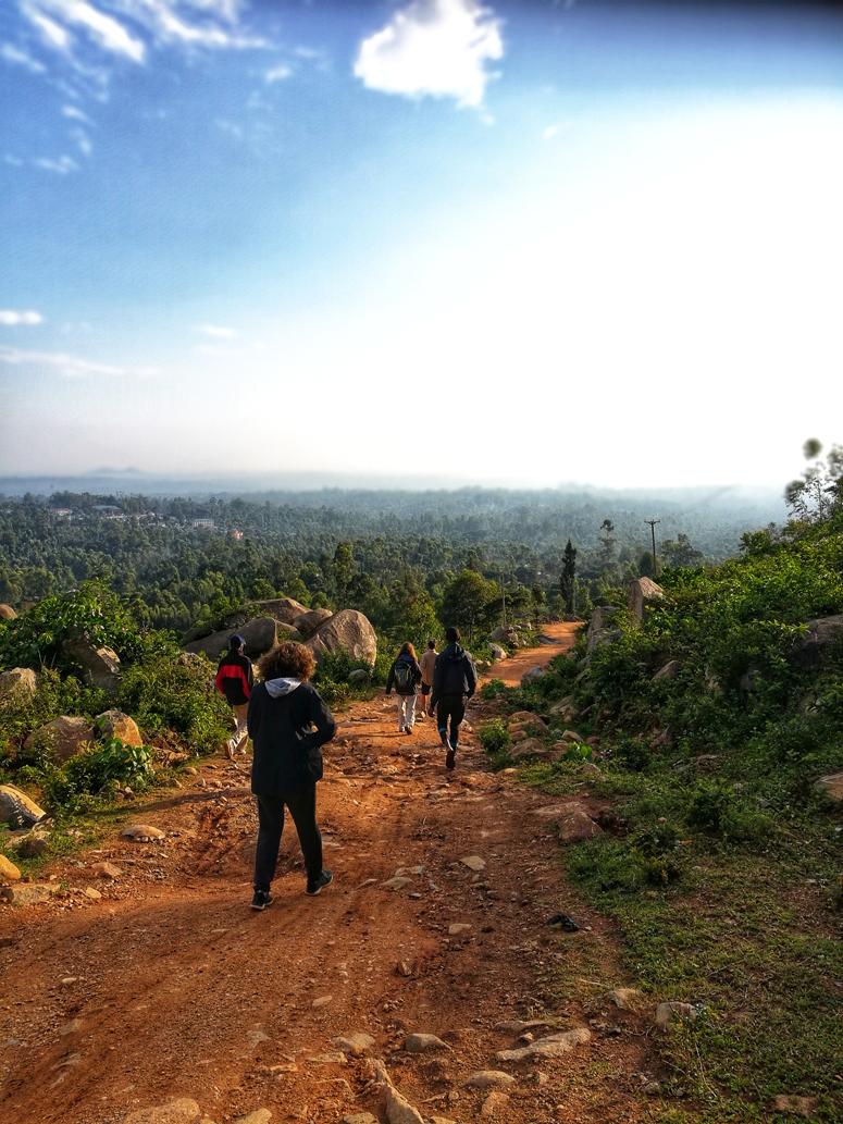 kaunis aamu Keniassa