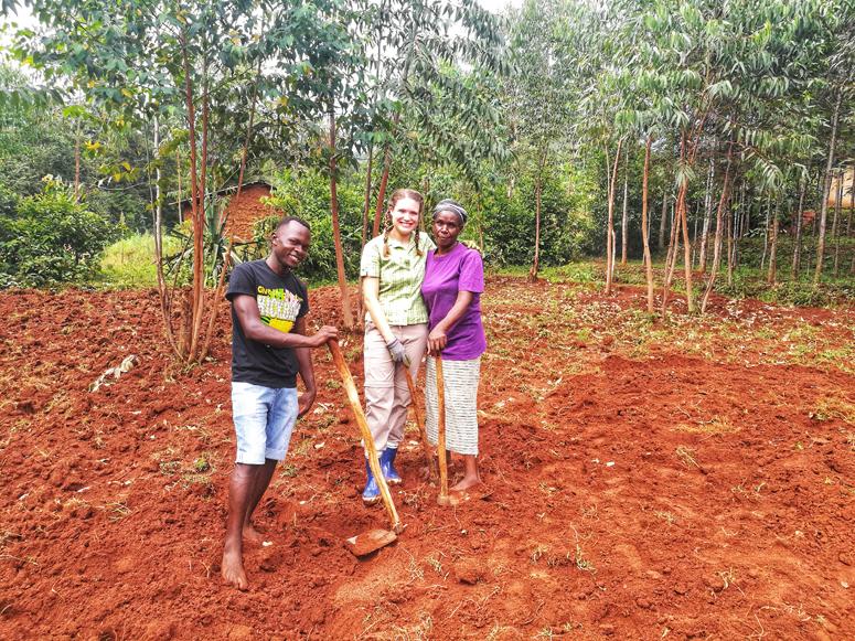 Farmilla vapaaehtoistöissä Keniassa