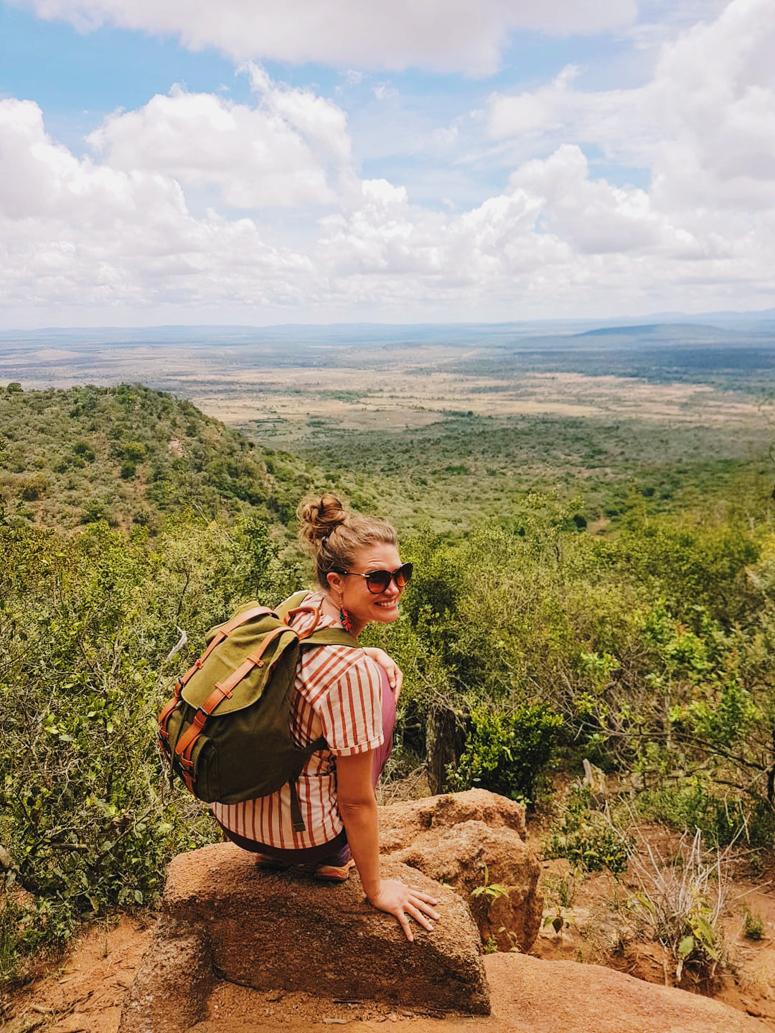 Huikeat maisemat Maji Motossa Keniassa