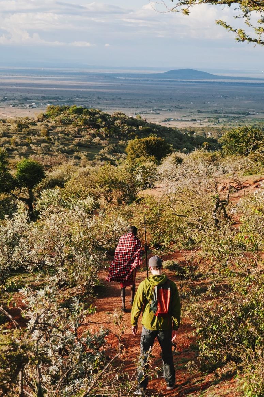 retkeilyä Maji Motossa Keniassa