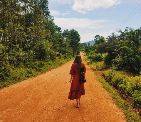 Länsi-Kenian maaseudulla