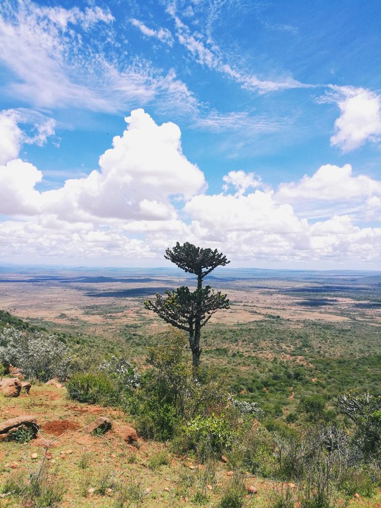 Upeat maisemat Maji Motossa Keniassa