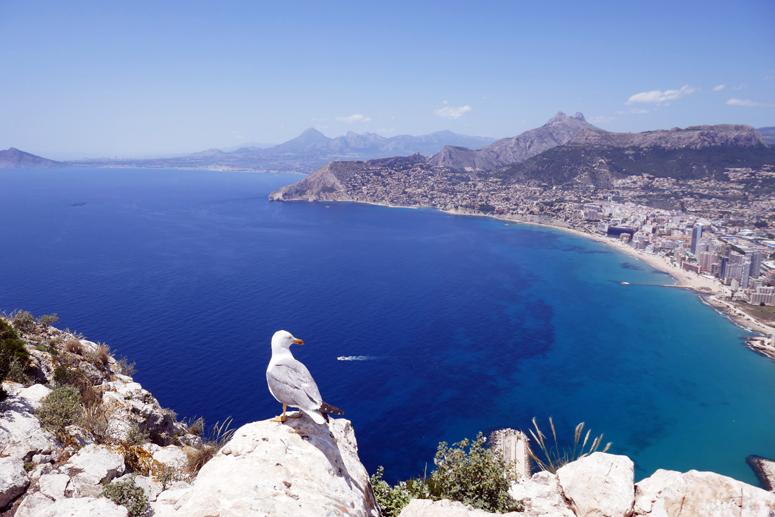 Maisemat Ifac-vuorelta Costa Blancalla