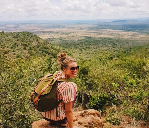 Upeita maisemia Etelä-Keniassa