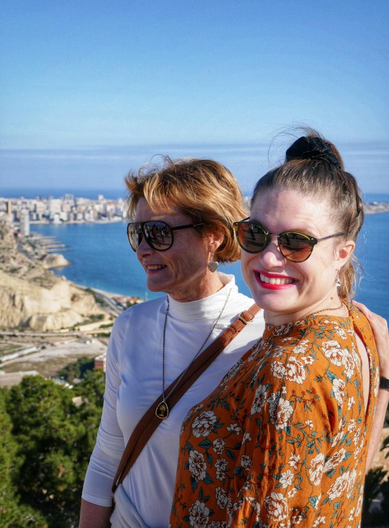 minä ja äiti Alicantessa