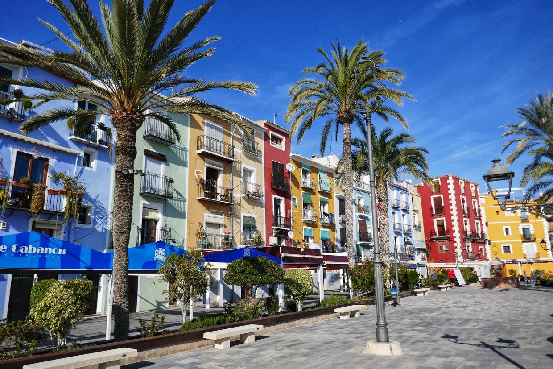 Costa Blancan aurinkoa ja värejä