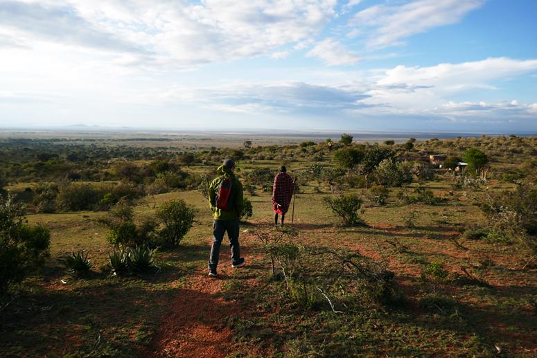 Kävelyllä Maji Motossa keniassa