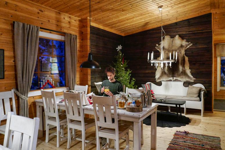 Magical Pondin aamupala oli katettu Lammintupaan